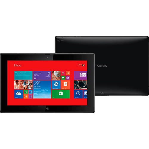 119330736 1GG Black Friday 2014 | Tablet Nokia Lumia 2520 32GB Wi fi + 4G e Windows 8.1, por R$ 969