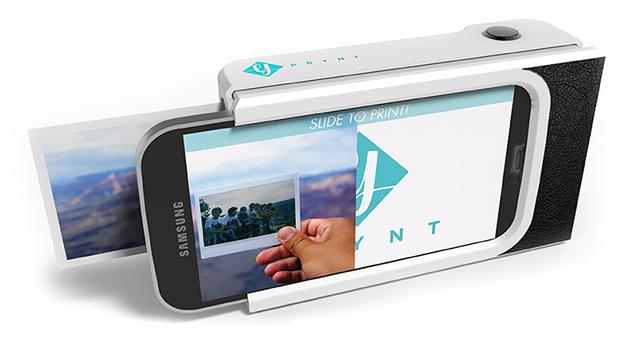 prynt Prynt Case transforma o seu smartphone em uma Polaroid