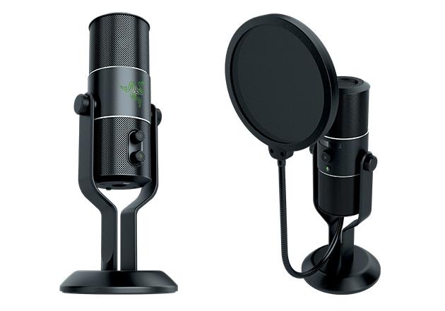 razer seiren Razer Seiren, o microfone dos gamers