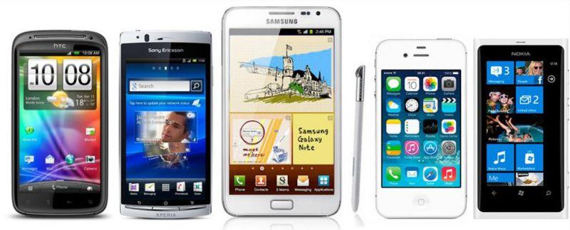 smartphones de 2011