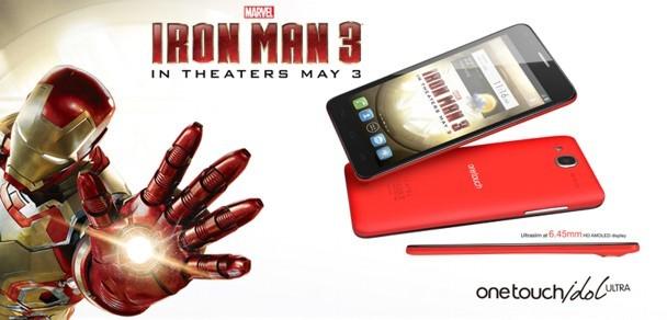 Alcatel One Touch Idol Ultra Edición Iron Man 3