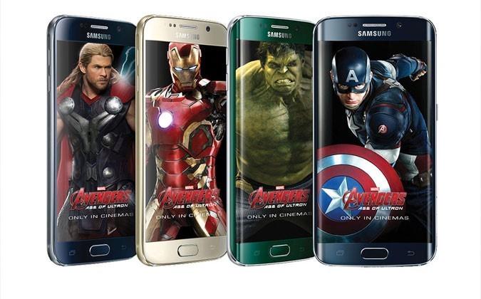 Samsung Galaxy S6 y S6 Edge Edición Vengadores 02