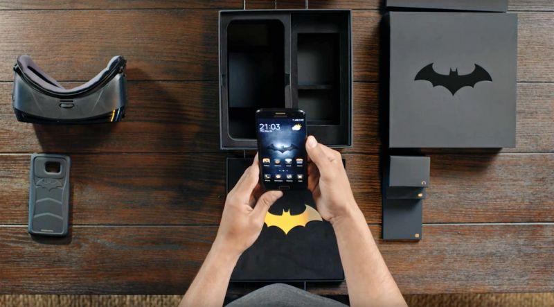 Samsung Galaxy S7 Edge Edición Injustice