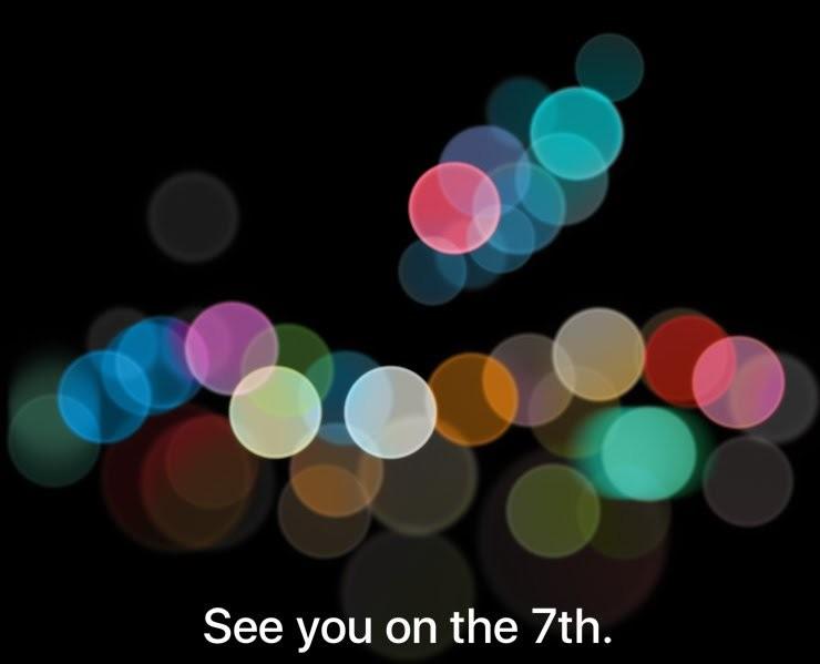 apple event 7 setembro