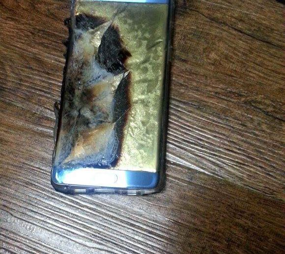 galaxy note 7 explodiu
