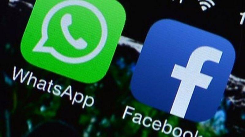 whatsapp e facebook logos teaser