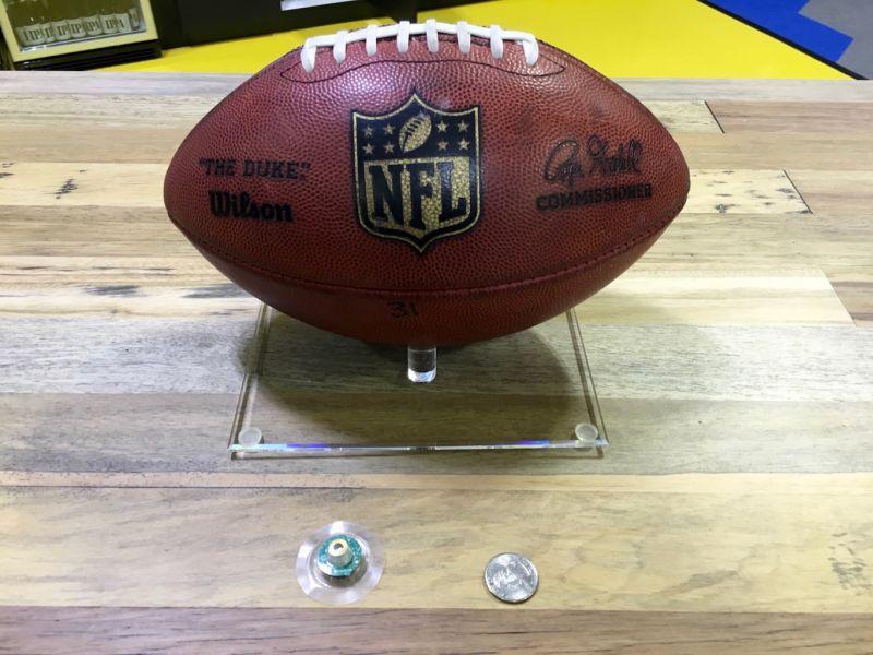 NFL bola tecnologia