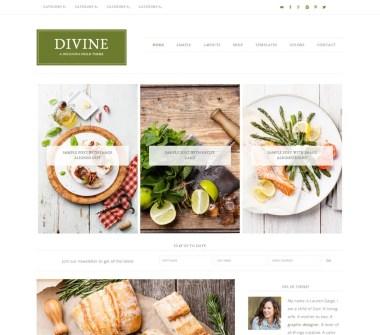 Tema Genesis Divine de StudioPress
