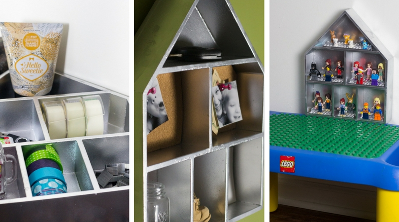 One Shelf Three Ways Cute House Shelf That Has Just Been