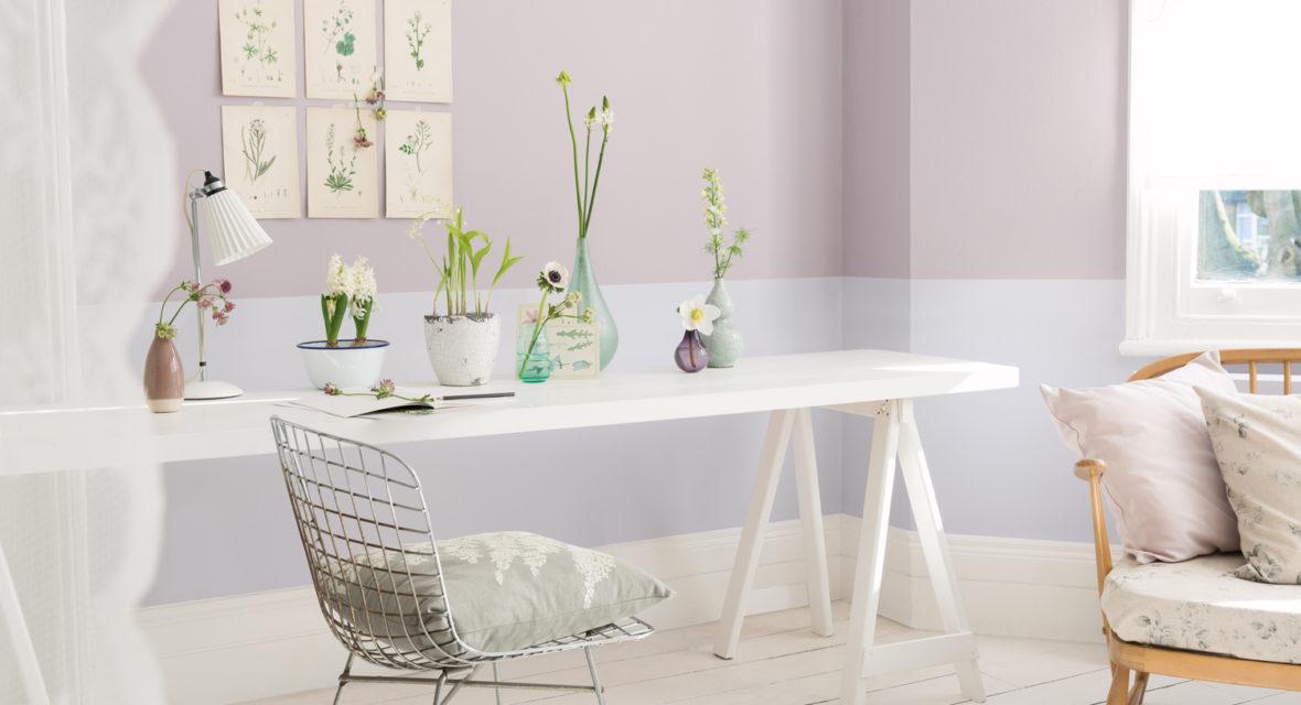 Depumpink Wohnzimmer Grau Gelb - beispiele wandfarbe lila wohnzimmer