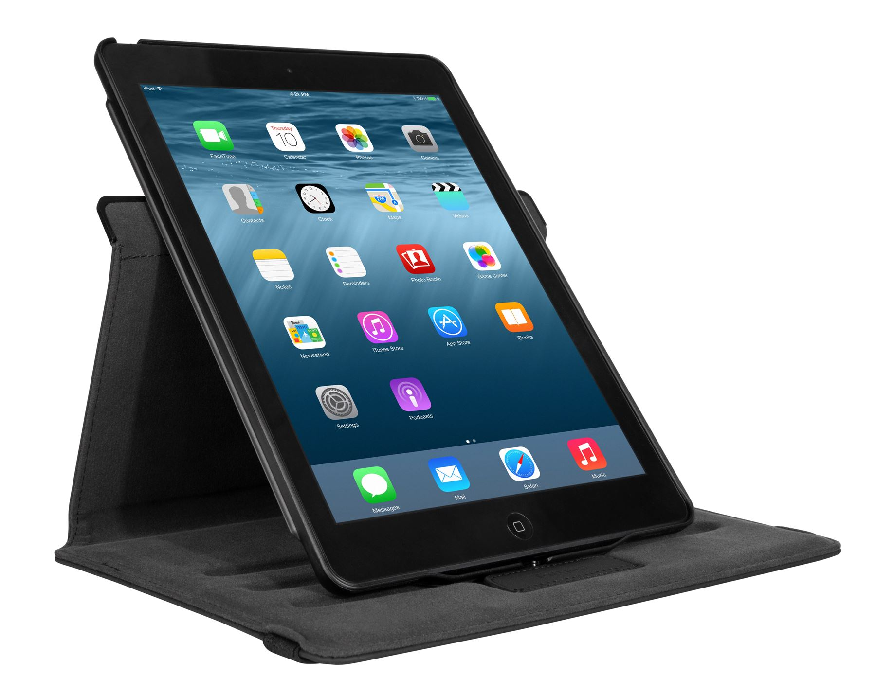 Ipad Air 2 Versavu 360 Slim Case For Ipad Air 2 Thz471us Black