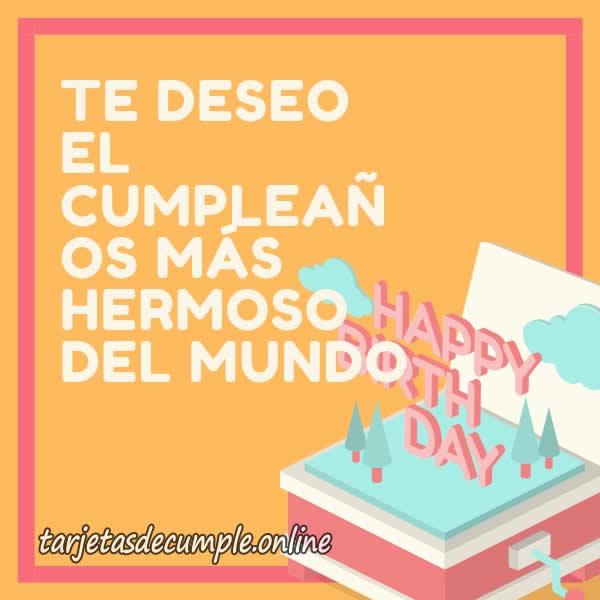 17】 Tarjetas de Cumpleaños para un Compañero de Trabajo