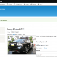 Drupal 8 - Progress - Image Uploads