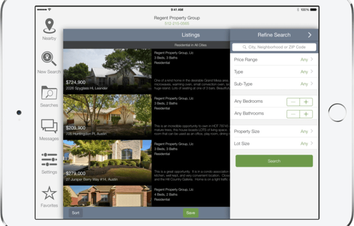 App Ipad Listings