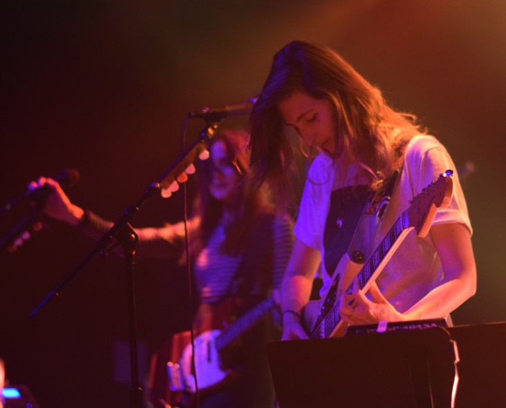 Emily Kokal from the band Warpaint during their most recent stop at Terminal West in Atlanta.