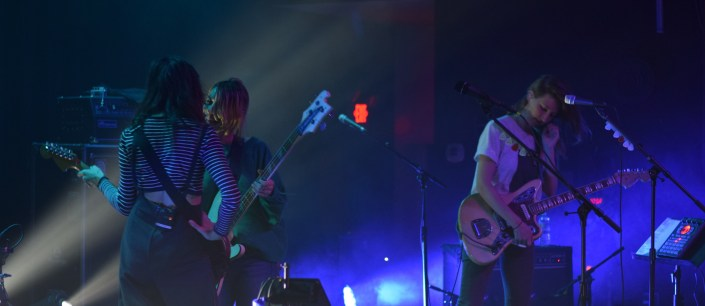 Check out Warpaint's latest release, Heads Up, and look for them on tour at a venue near you.