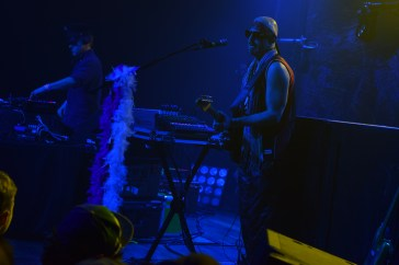 Zion Godchaux and D.J. Harry (BoomBox) laying it down for the sold out crowd in Terminal West (Atlanta).