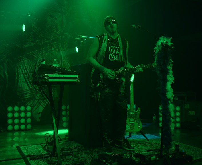 Zion Godchaux of the band BoomBox during their sold out show in Terminal West (Atlanta).