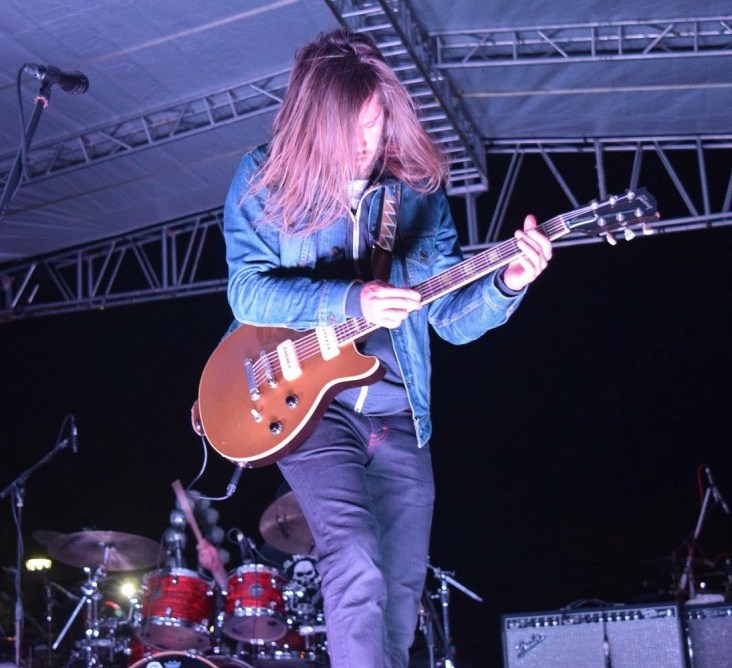Trevor Terndrup of People of the Sun (Moon Taxi) performing at The Major Rager (2017) in Augusta, Ga.
