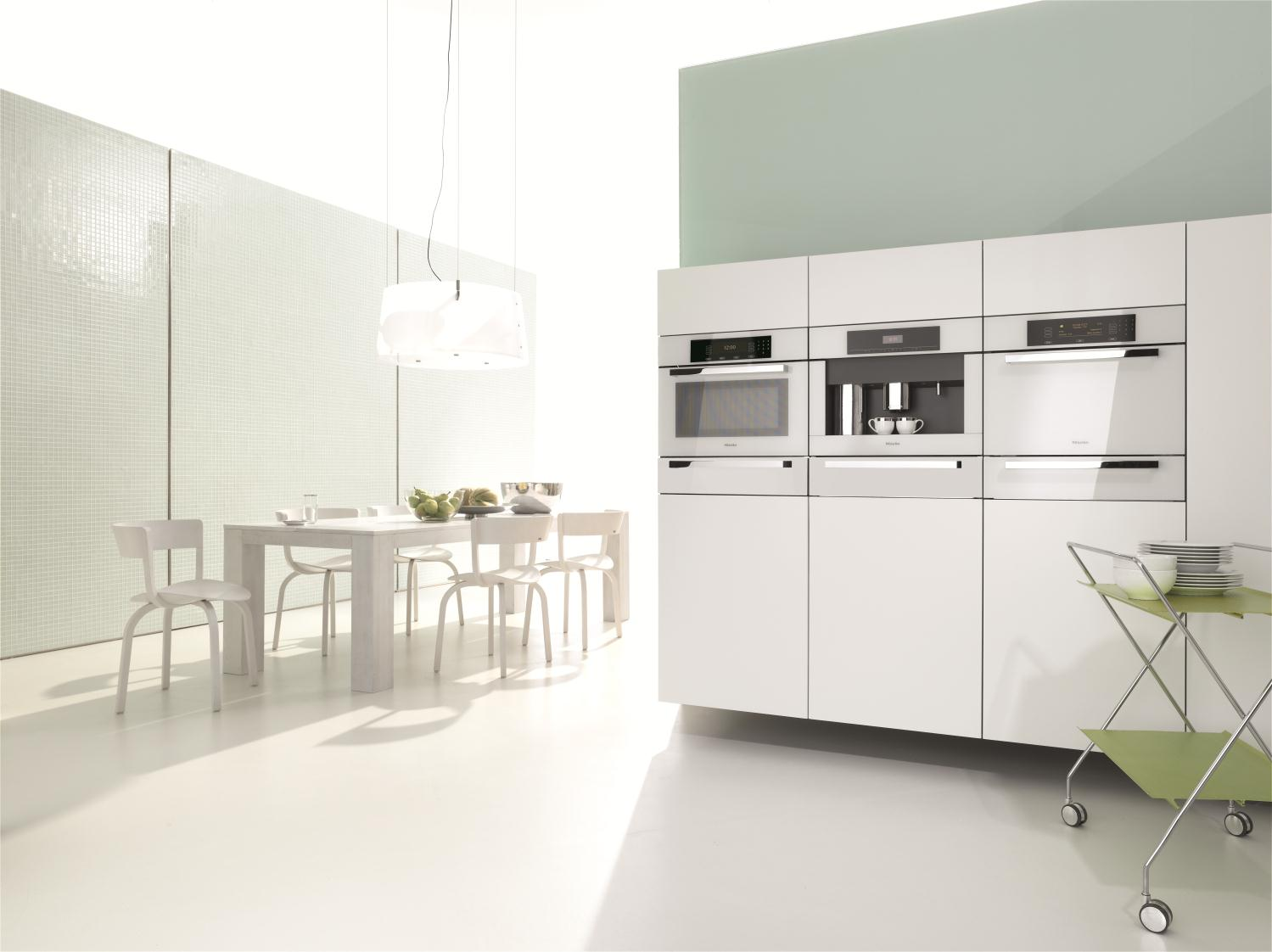 Miele Kitchen Design Miele Introduces The Timeless Brilliant White Collection