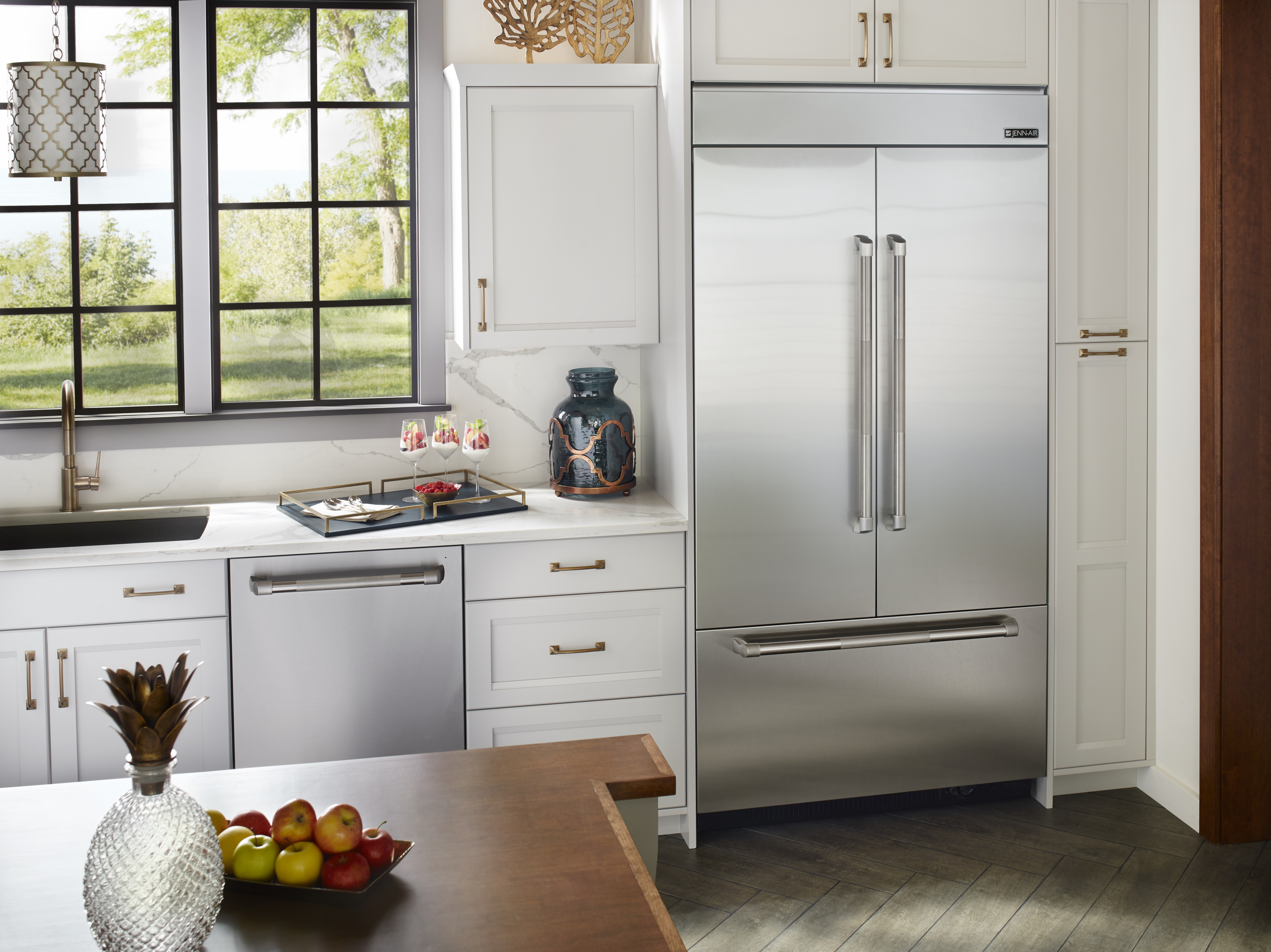 42 Fridge Jenn Air 42 Inch Built In French Door Refrigerator Jf42nxfxde