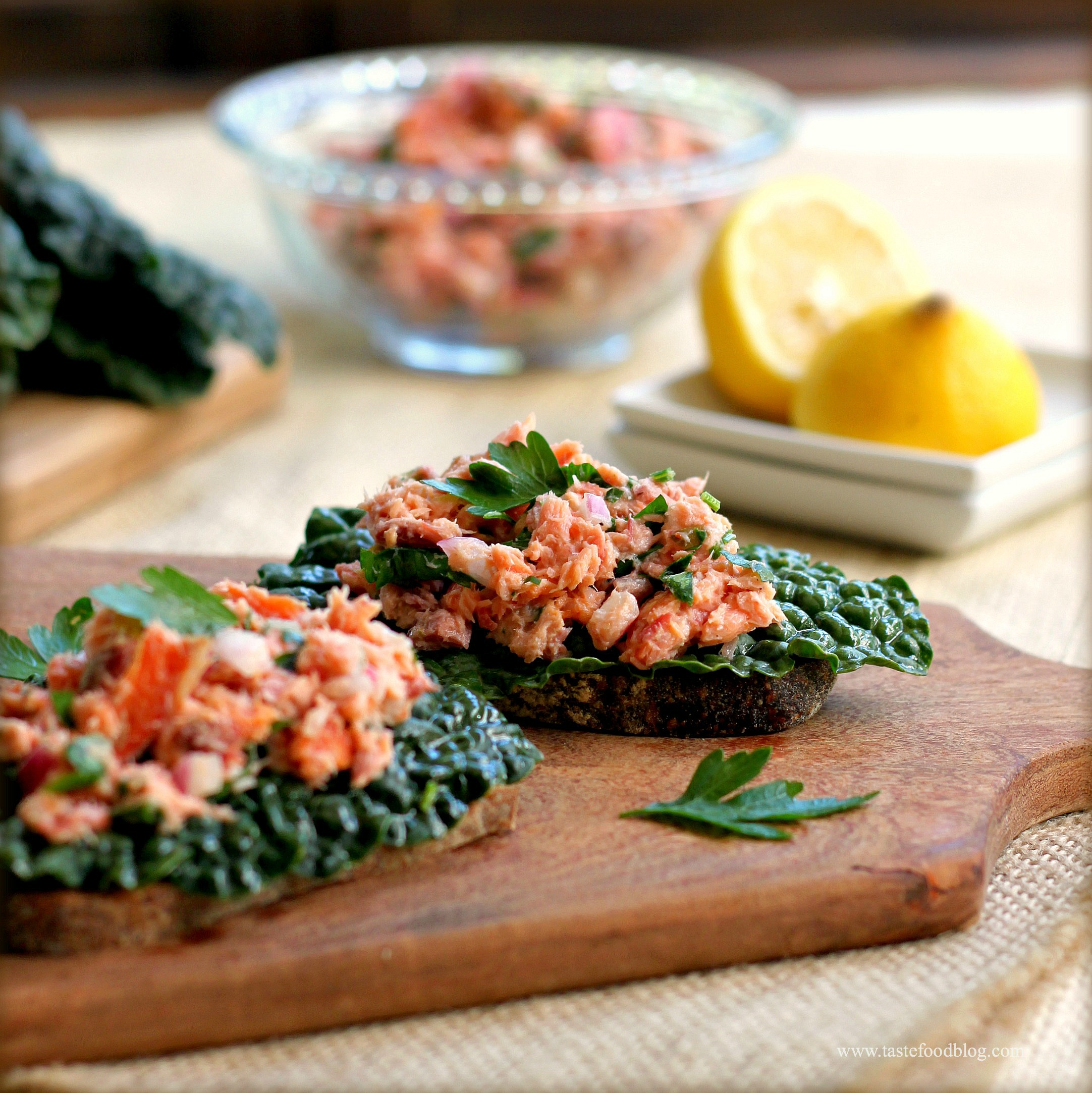 Fullsize Of Smoked Salmon Salad