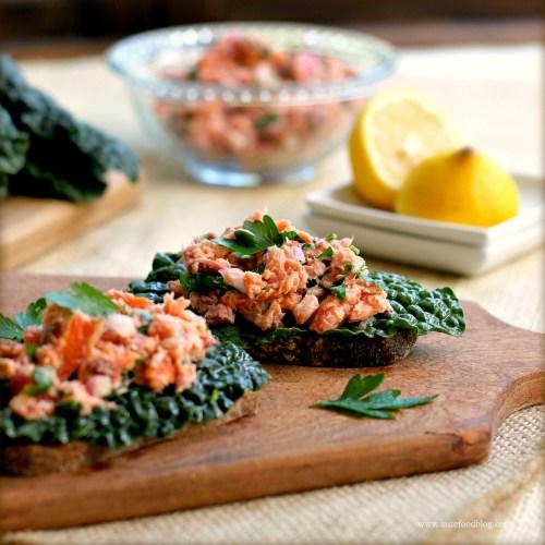 Medium Of Smoked Salmon Salad