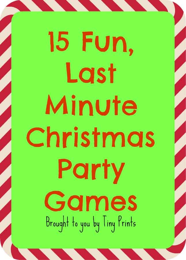 Fun Last Minute Christmas Party Games - Tastefully Frugal