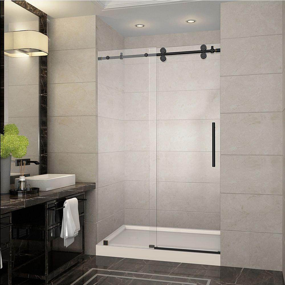 Small Bathroom Upgrading Ideas With Using Shower Glass Door Tasteful Space