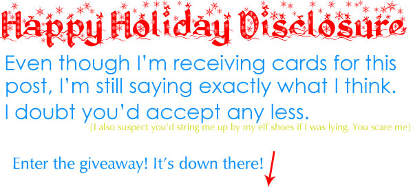 Taste Like Crazy Holiday Giveaway Disclosure