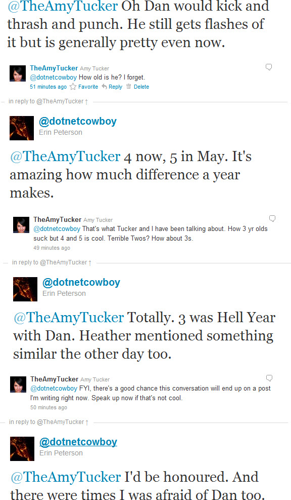 DotNetCowboy TheAmyTucker Tweets