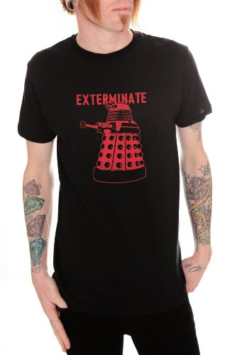 Dr. Who Dalek Shirt Exterminate
