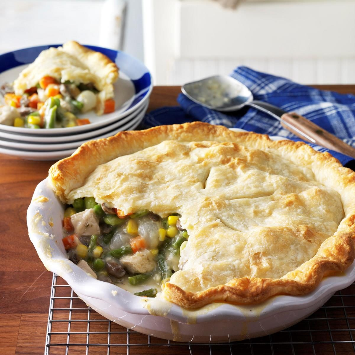 Grandma S Coziest Pot Pie Recipes Taste Of Home