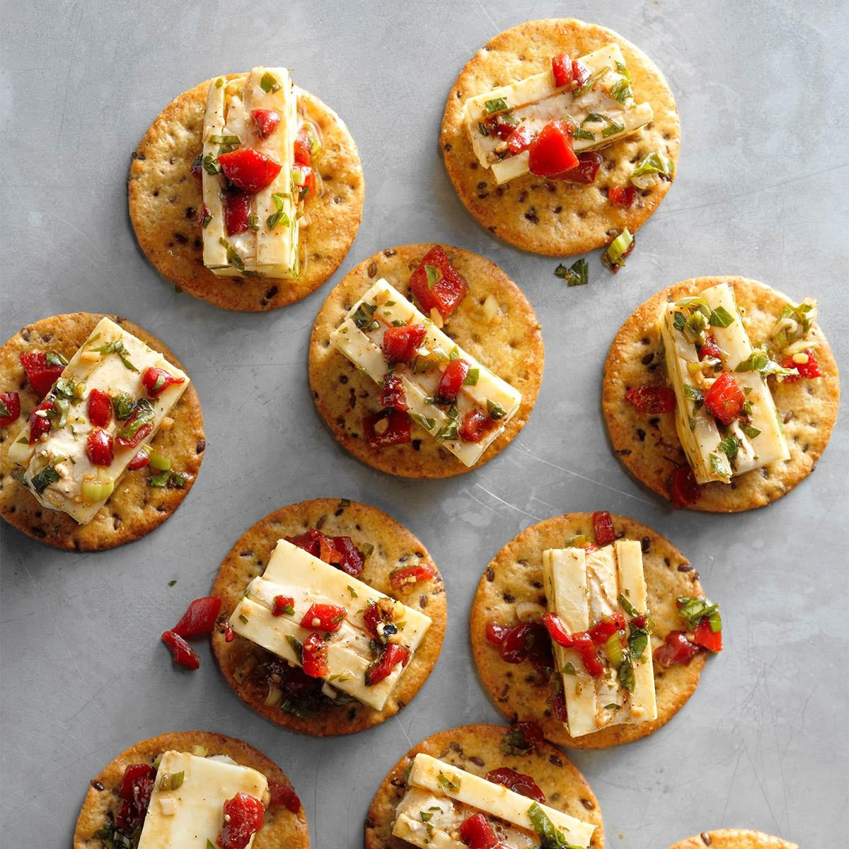 Healthy Christmas Appetizers Pinterest Marinated Cheese