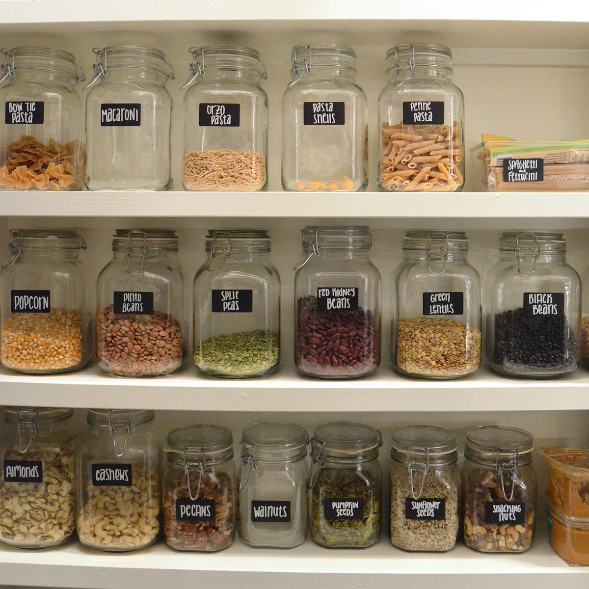 Pantry Organization 14 Easy Pantry Organization Tips From The Experts Taste Of Home
