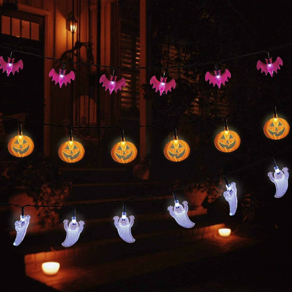 Led Halloween Lights Our Picks For The Best Halloween Decorations On Amazon Taste Of Home
