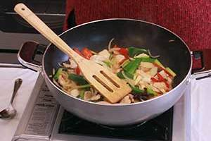 Chicken and Ginger Stir Fry