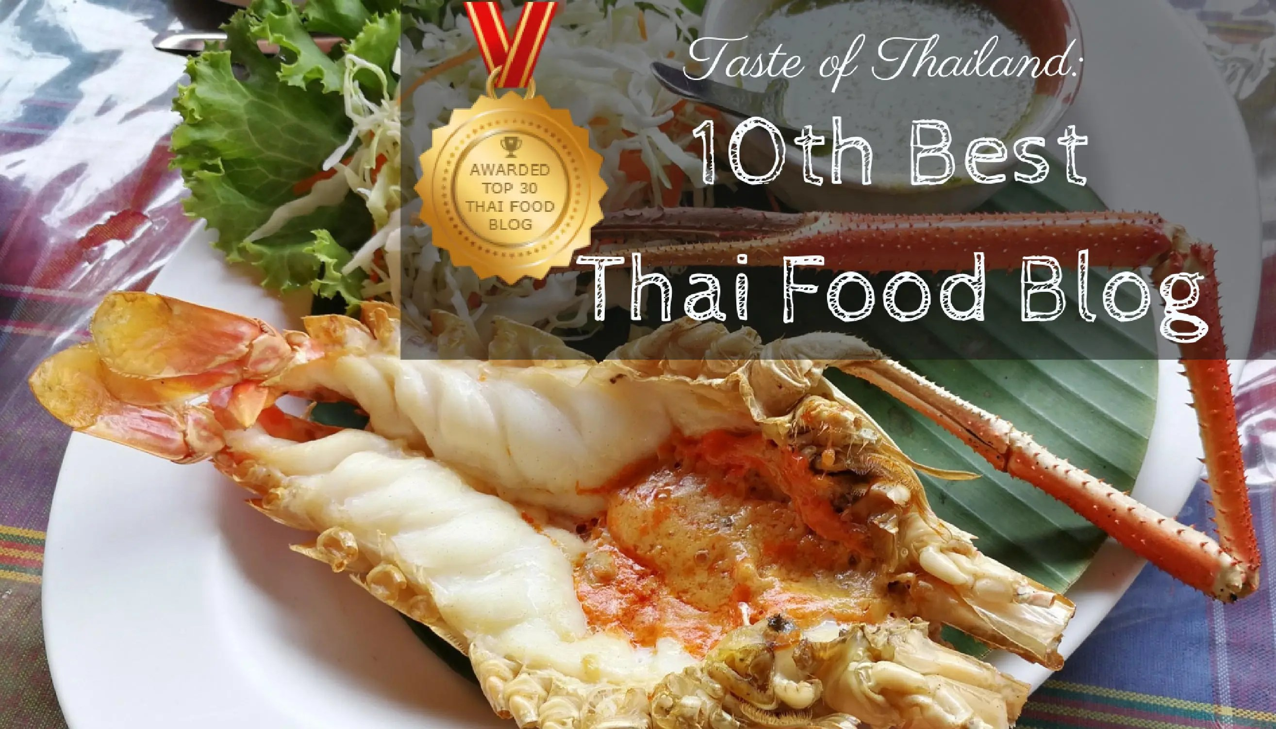 Blogspot Food Blog Taste Of Thailand 10th Best Thai Food Blog Taste Of Thailand