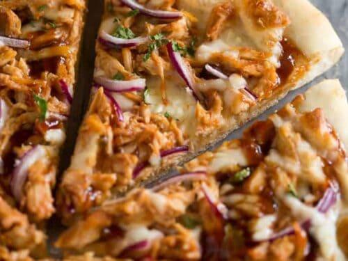 BBQ Chicken Pizza - Tastes Better From Scratch