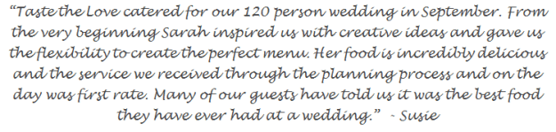 wedding catering review