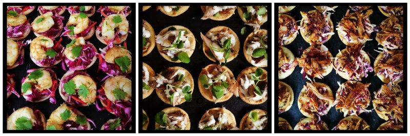 Tartlet canape