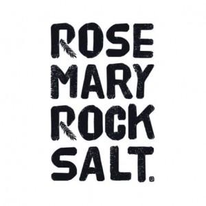 rosemary rock salt