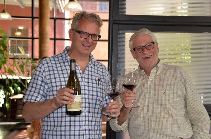 Adelsheim Vineyard's Dave Paige and David Adelsheim