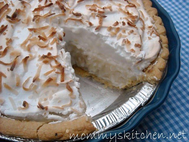 Paleo Old Fashioned Coconut Cream Pie