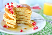 Eggnog Pancakes | Tasty Kitchen Blog