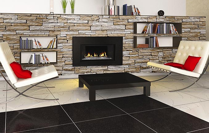 Napolean Fireplace Modern Look