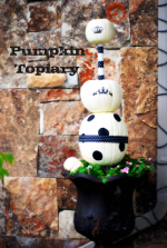 Trendy Tuesdays: Pumpkin Topiary