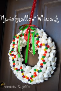 Whimsical Christmas Wreath - Tatertots and Jello