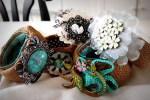 Repurposing Old Jewelry — with burlap!