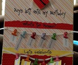 Birthday Board Giveaway!!